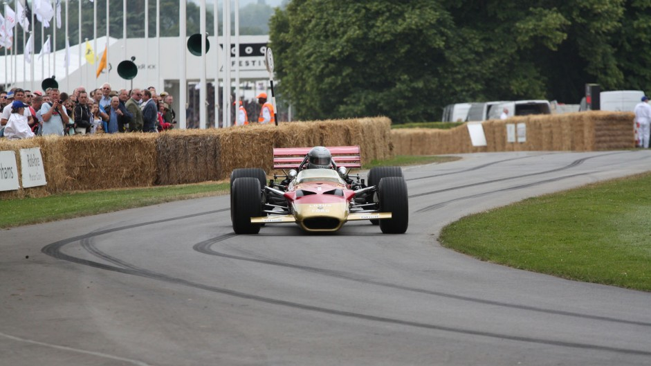 Lotus 49 (2), Goodwood Festival of Speed, 2014