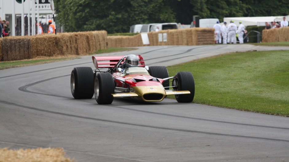Lotus 49 (3), Goodwood Festival of Speed, 2014