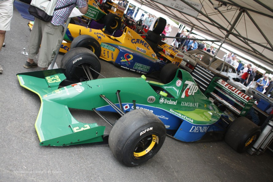 Jordan 191, Goodwood Festival of Speed, 2014