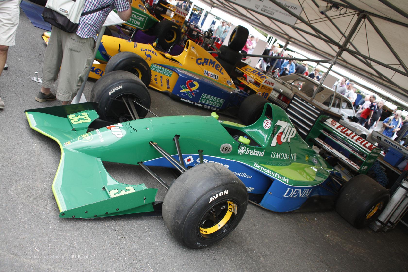 Jordan 191, Goodwood Festival of Speed, 2014