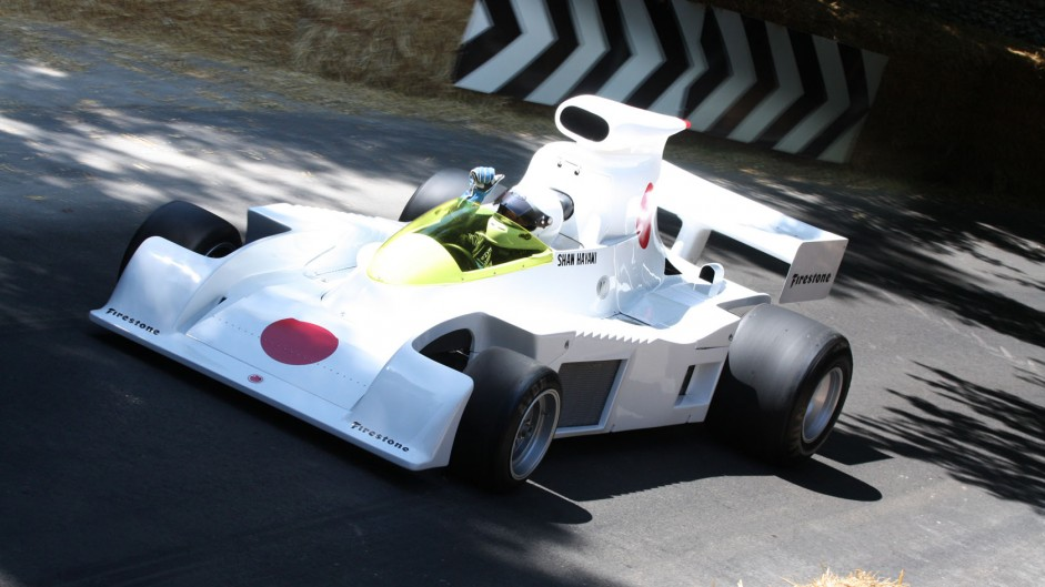 Maki F101 (1), Goodwood Festival of Speed, 2014