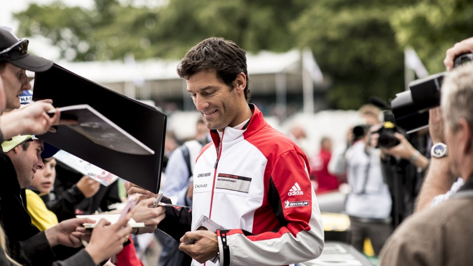 Mark Webber (2), Goodwood Festival of Speed, 2014