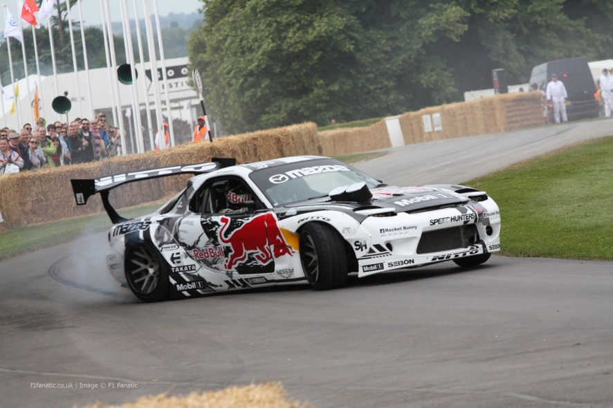 Mazda FD RX7, Goodwood Festival of Speed, 2014