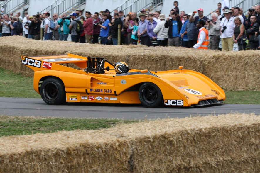 McLaren-Chevrolet M8F Can-Am (2), Goodwood Festival of Speed, 2014