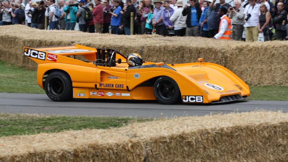 McLaren-Chevrolet M8F Can-Am (2), Goodwood Festival of Speed, 2014