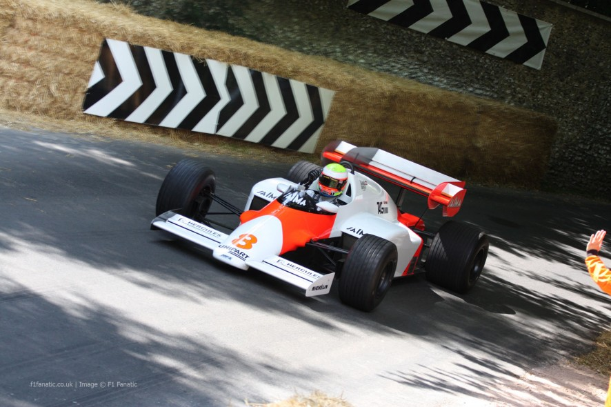 McLaren MP4-2 (1), Goodwood Festival of Speed, 2014