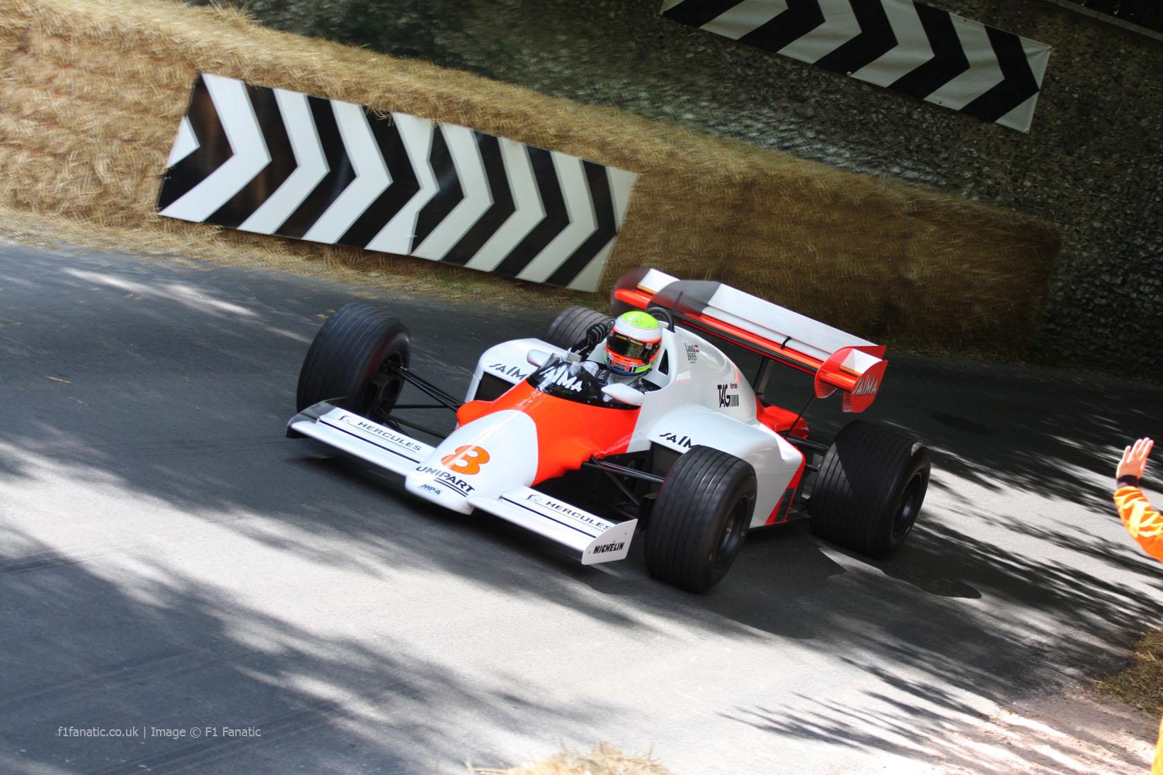 McLaren MP4-2 (1), Goodwood Festival of Speed, 2014