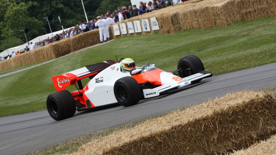 McLaren MP4-2 (3), Goodwood Festival of Speed, 2014