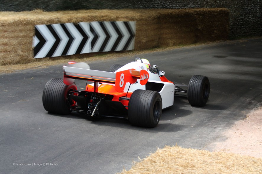 McLaren MP4-2 (4), Goodwood Festival of Speed, 2014