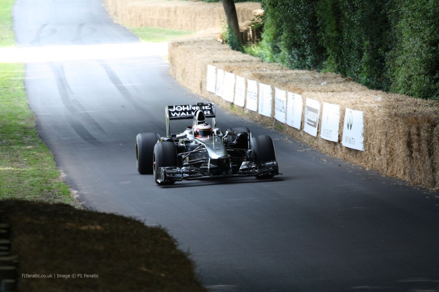 McLaren MP4-26 (1), Goodwood Festival of Speed, 2014