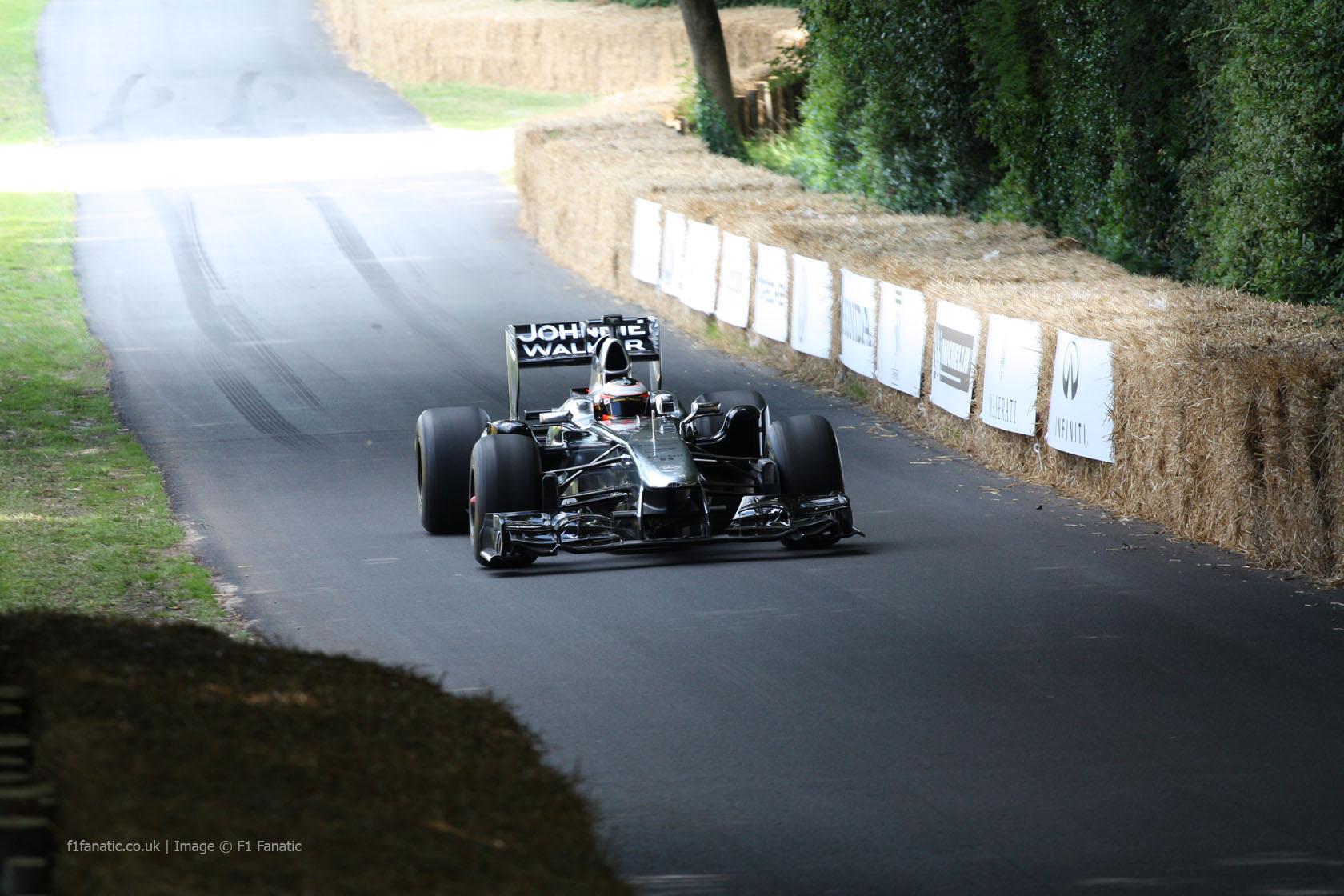 McLaren MP4-26 (1), Goodwood Festival of Speed, 2014