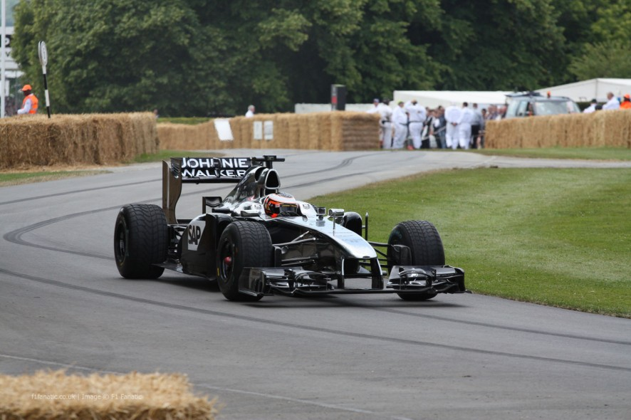 McLaren MP4-26 (2), Goodwood Festival of Speed, 2014