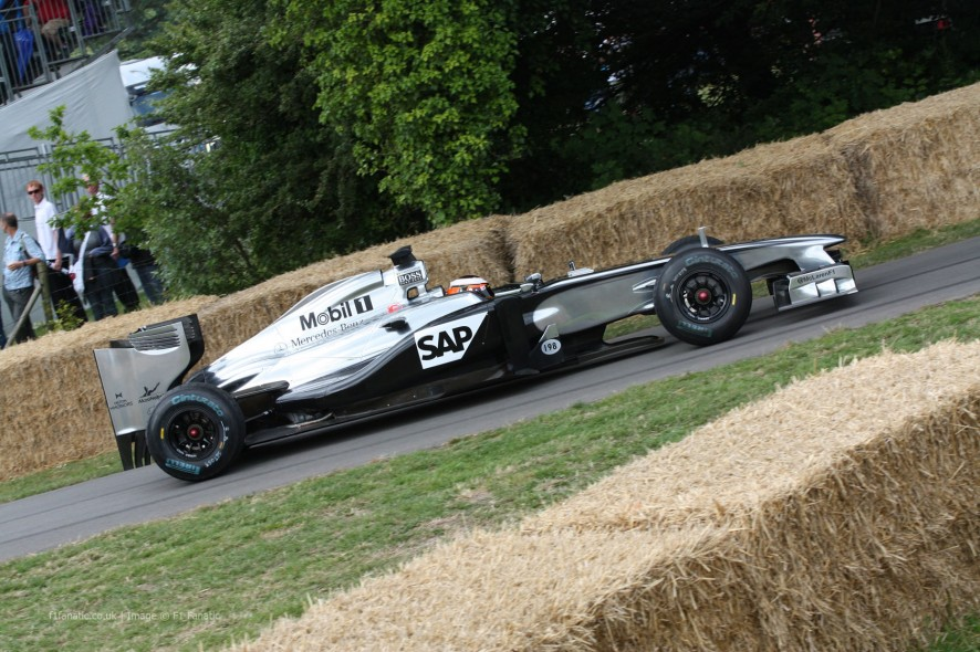 McLaren MP4-26 (3), Goodwood Festival of Speed, 2014