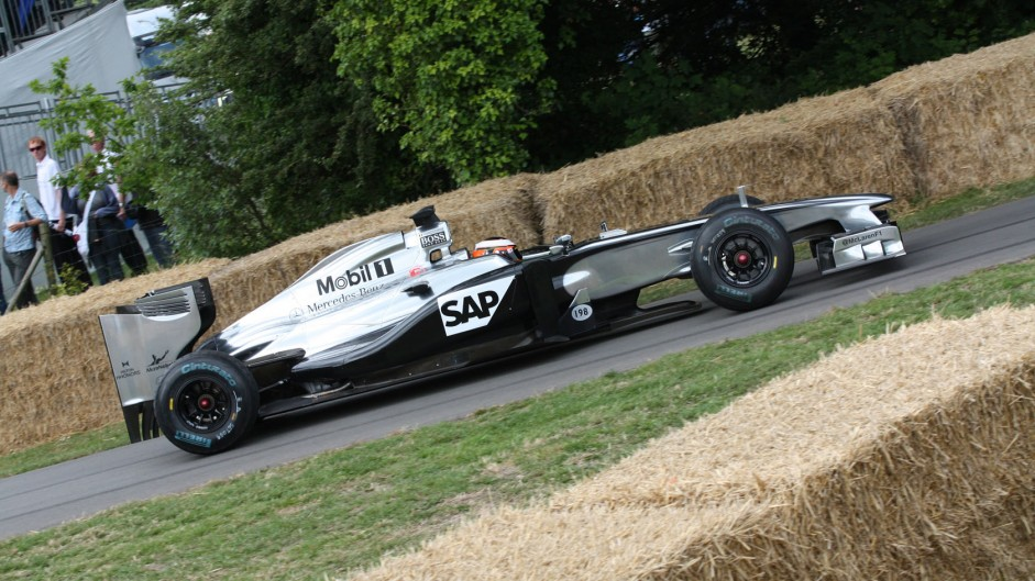 McLaren MP4-26 (3), Goodwood Festival of Speed, 2014