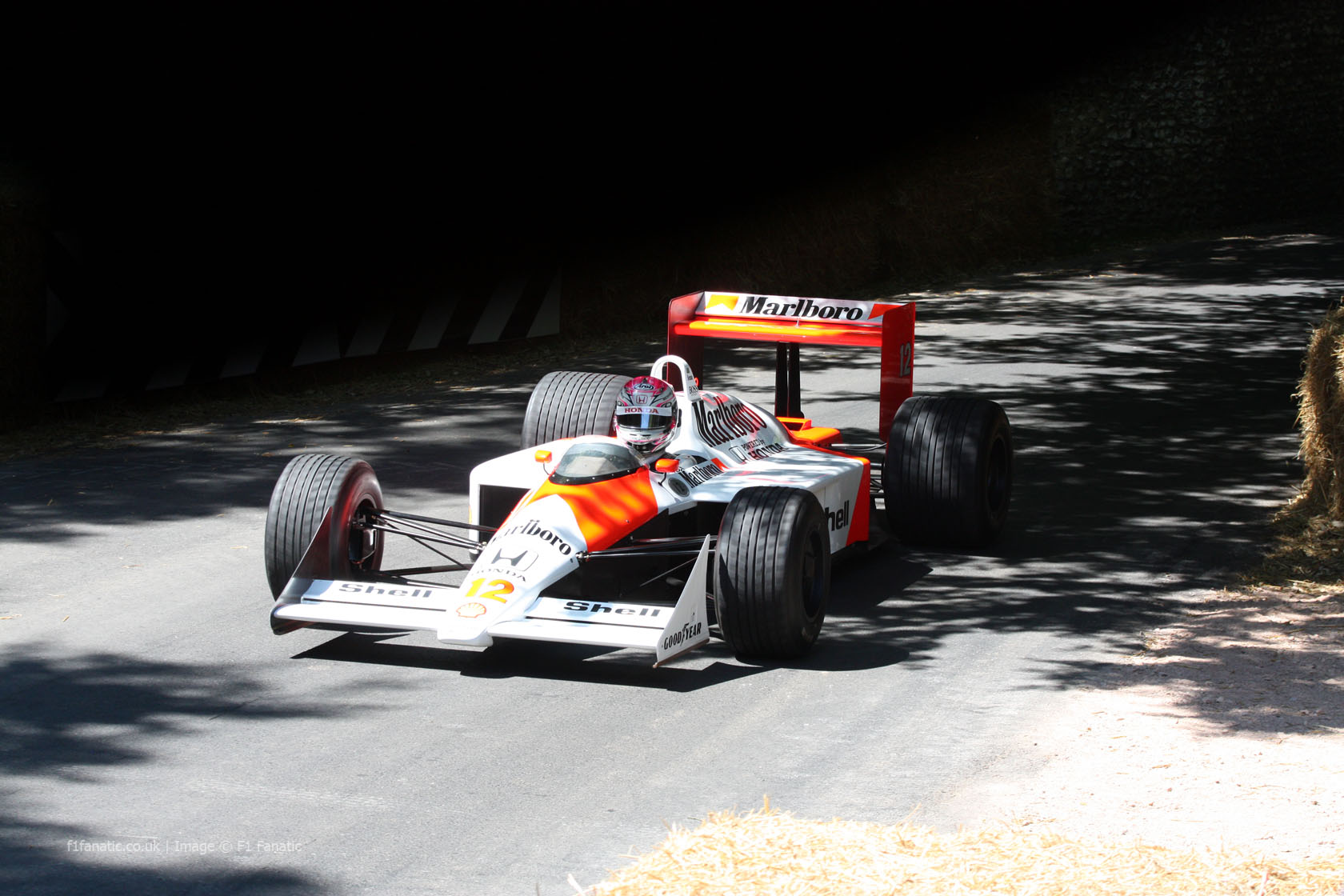 McLaren MP4-4 (1), Goodwood Festival of Speed, 2014