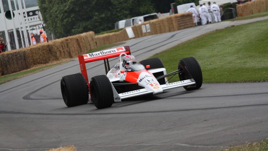 McLaren MP4-4 (2), Goodwood Festival of Speed, 2014