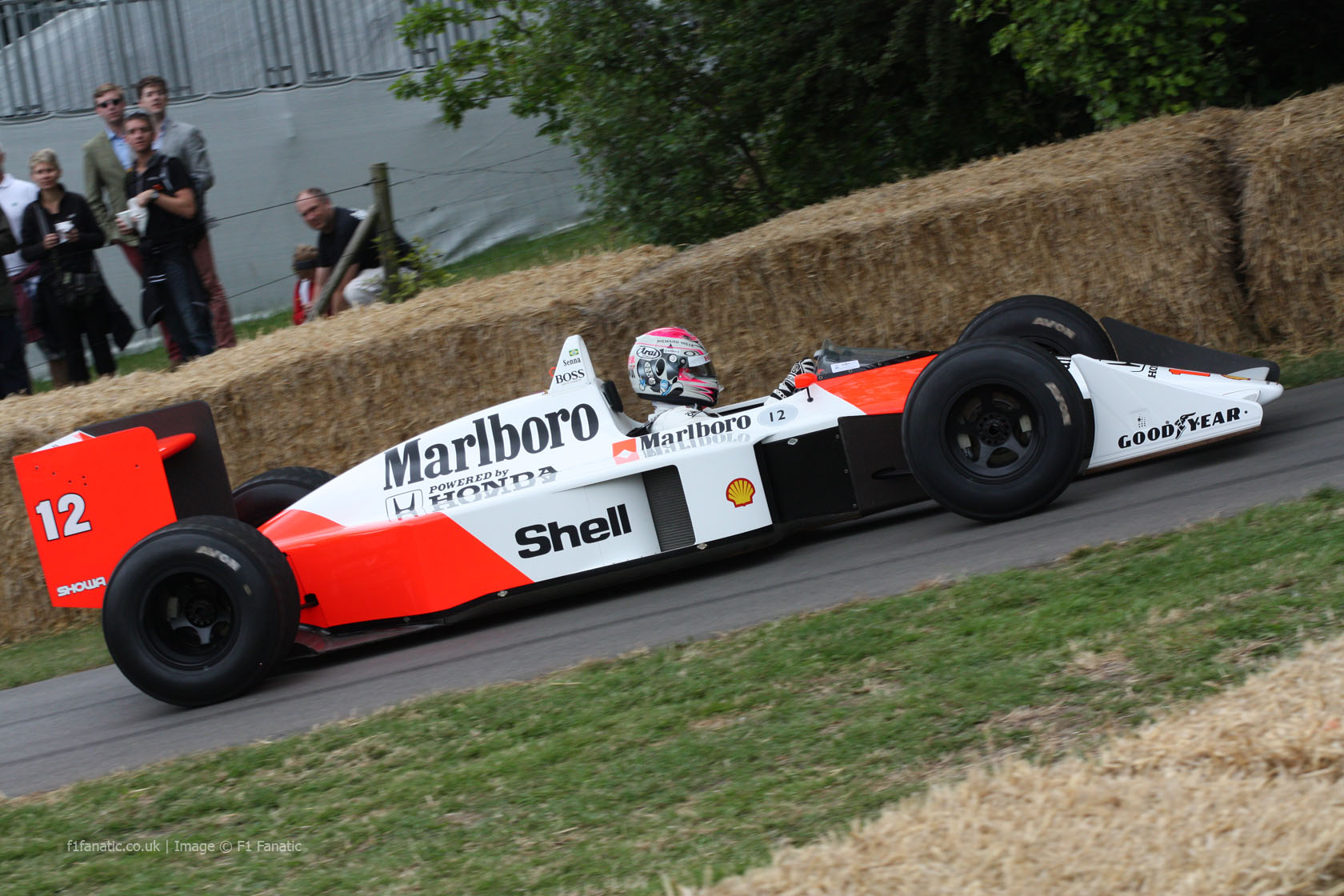 McLaren MP4-4 (3), Goodwood Festival of Speed, 2014