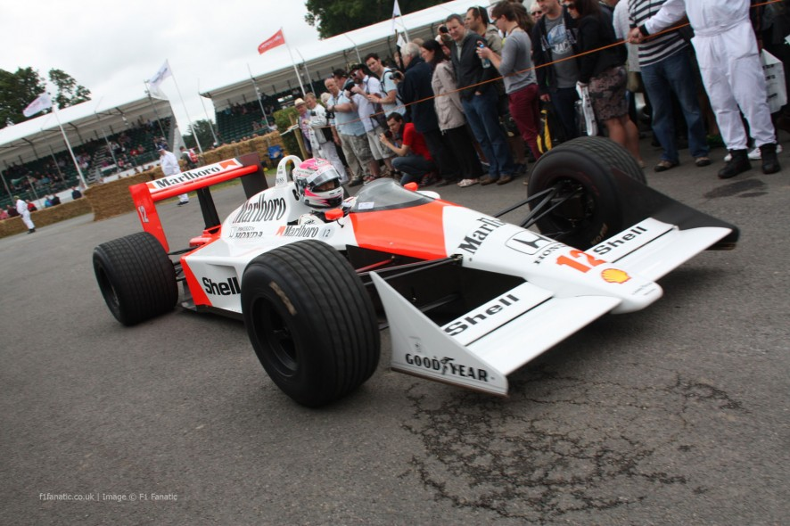 McLaren MP4-4 (4), Goodwood Festival of Speed, 2014