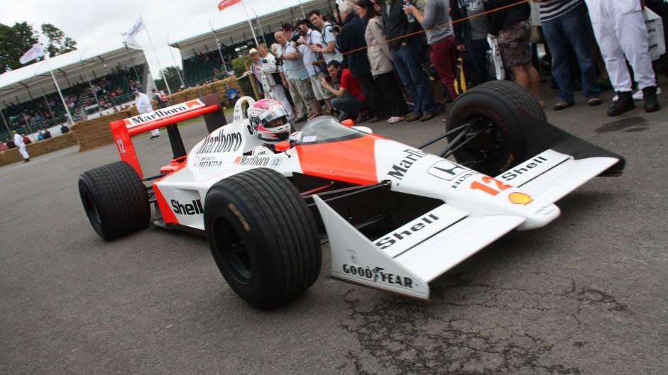 McLaren MP4-4 (4), Goodwood Festival of Speed, 2014