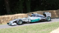 Mercedes W03 (1), Goodwood Festival of Speed, 2014