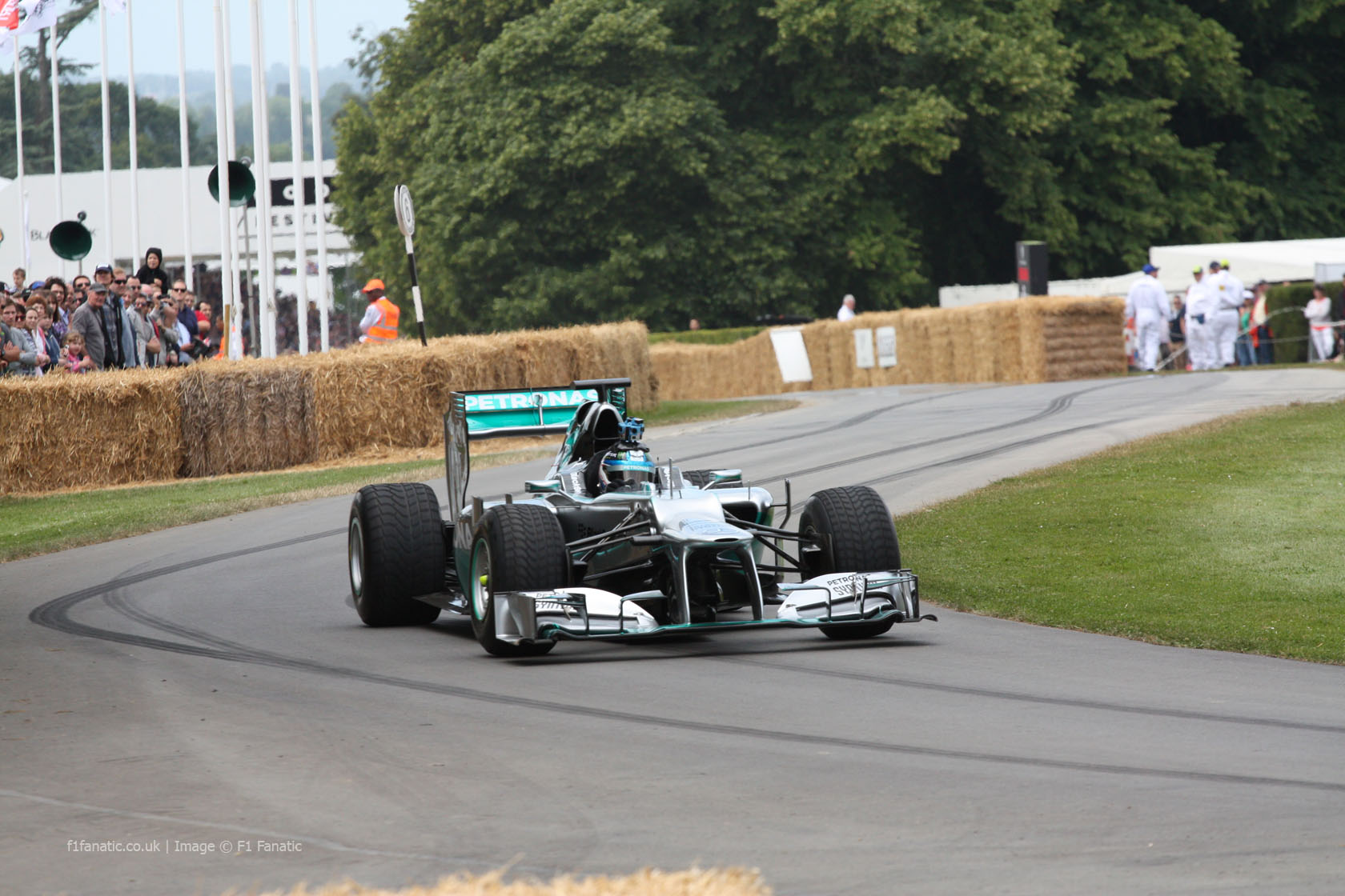 Mercedes W03 (2), Goodwood Festival of Speed, 2014