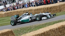 Mercedes W03 (3), Goodwood Festival of Speed, 2014