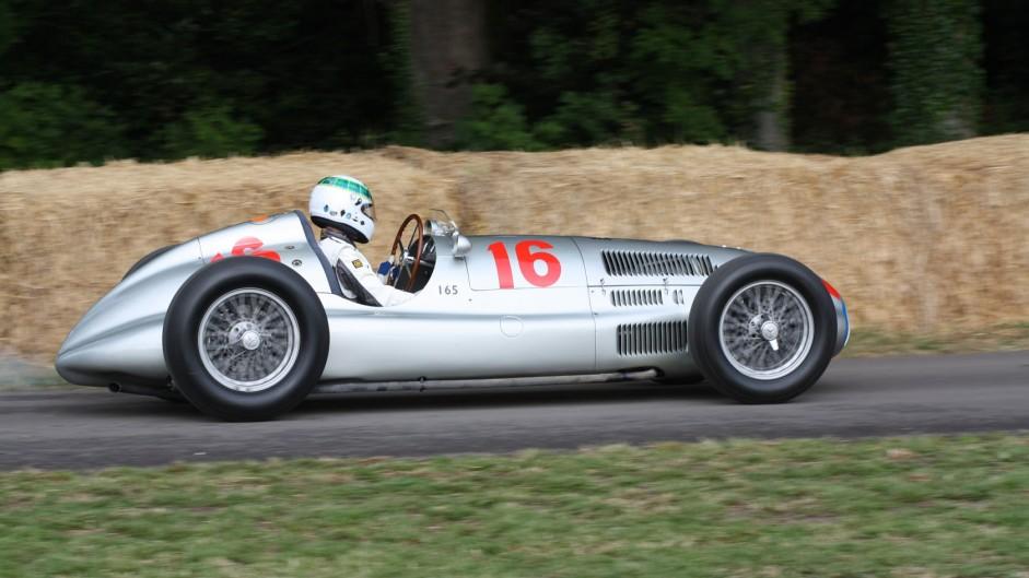 Mercedes W165, Goodwood Festival of Speed, 2014