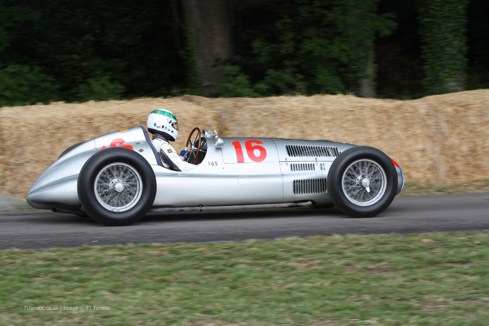 Mercedes W165, Goodwood Festival of Speed, 2014