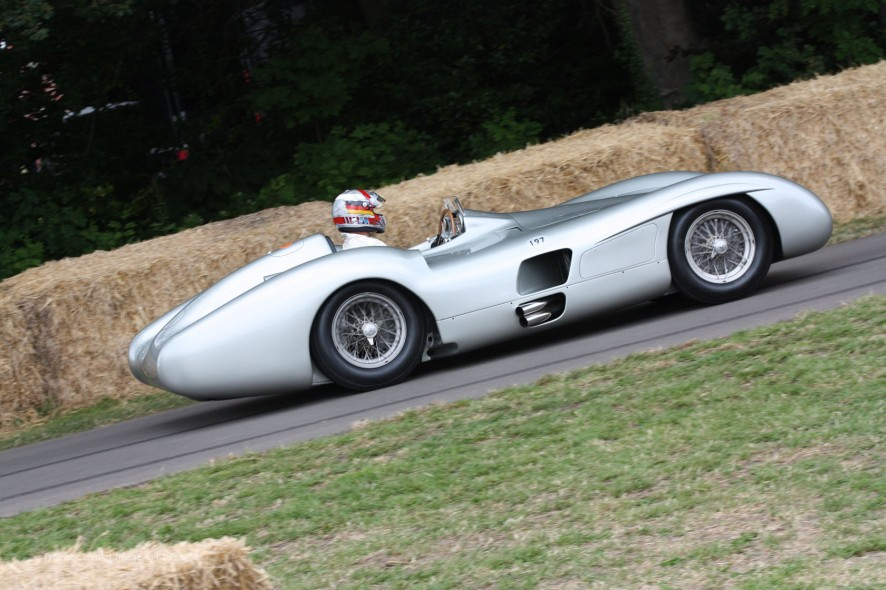 Mercedes W196 Streamliner, Goodwood Festival of Speed, 2014