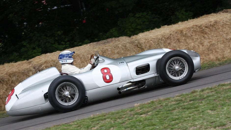 Mercedes W196, Goodwood Festival of Speed, 2014