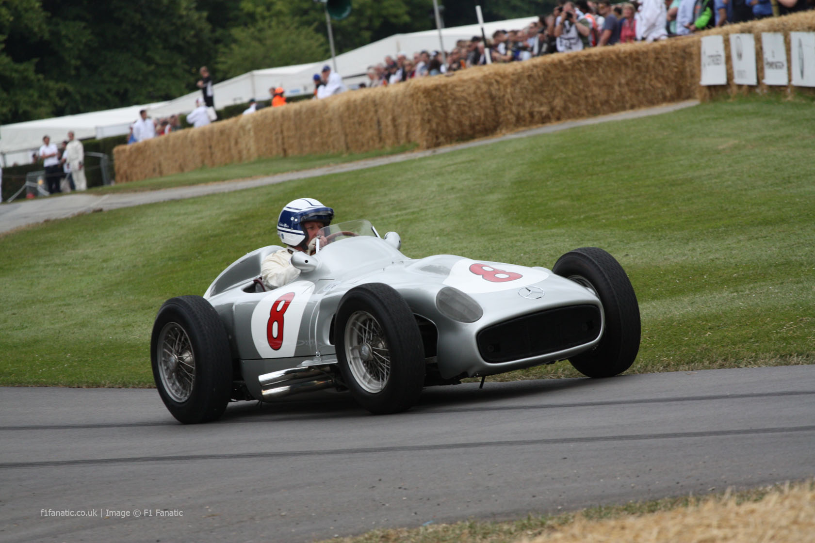 Mercedes W196, Goodwood Festival of Speed, 2014