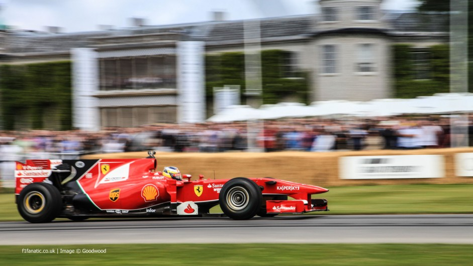 Pedro de la Rosa (3), Goodwood Festival of Speed, 2014
