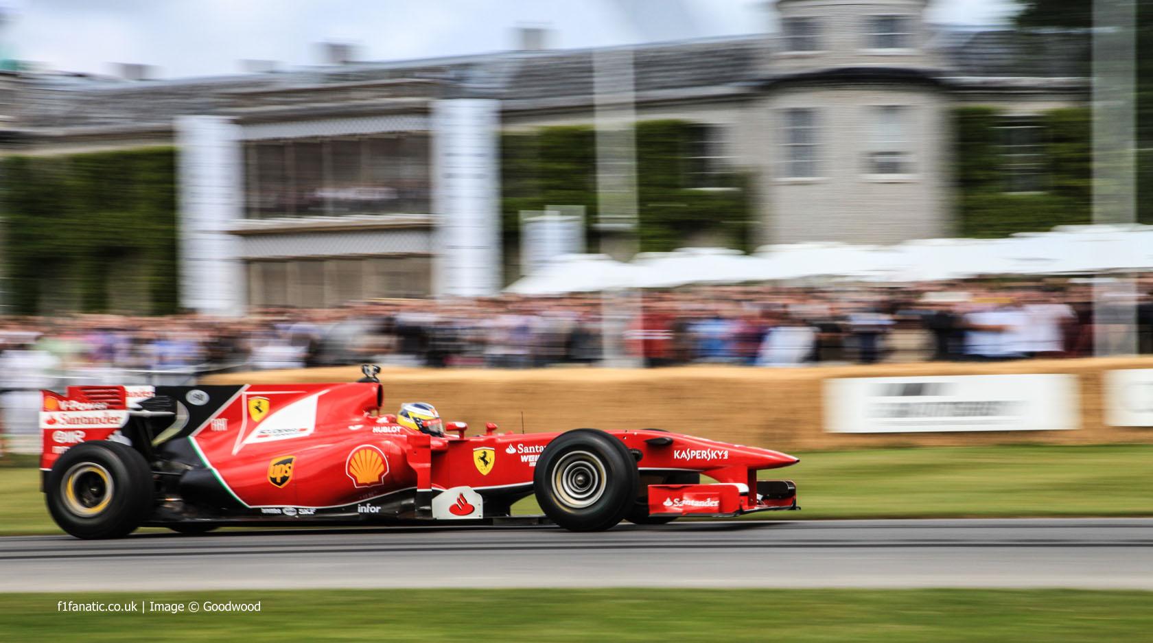 Pedro de la Rosa (3), Goodwood Festival of Speed, 2014