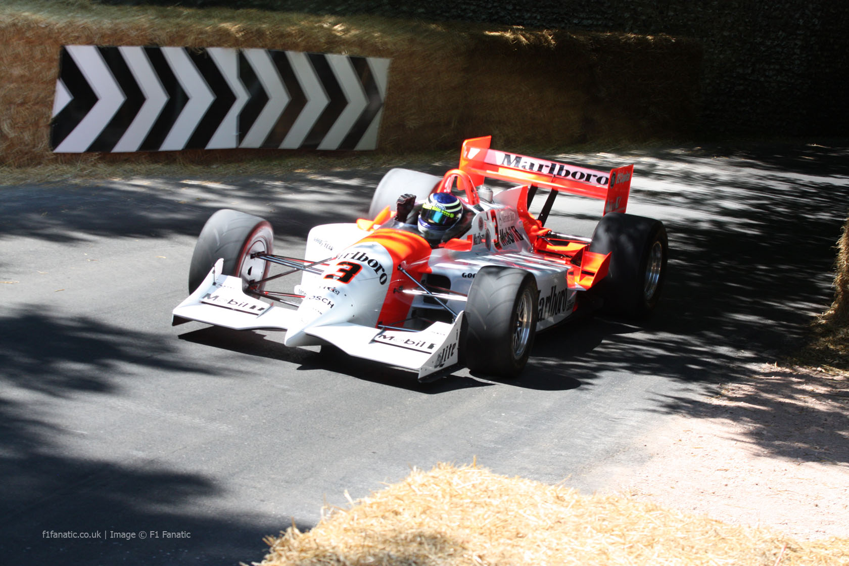 Penske PC26, Goodwood Festival of Speed, 2014