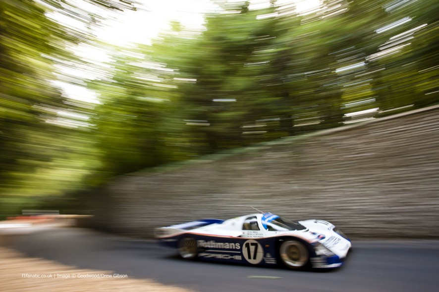 Porsche 962, Goodwood Festival of Speed, 2014