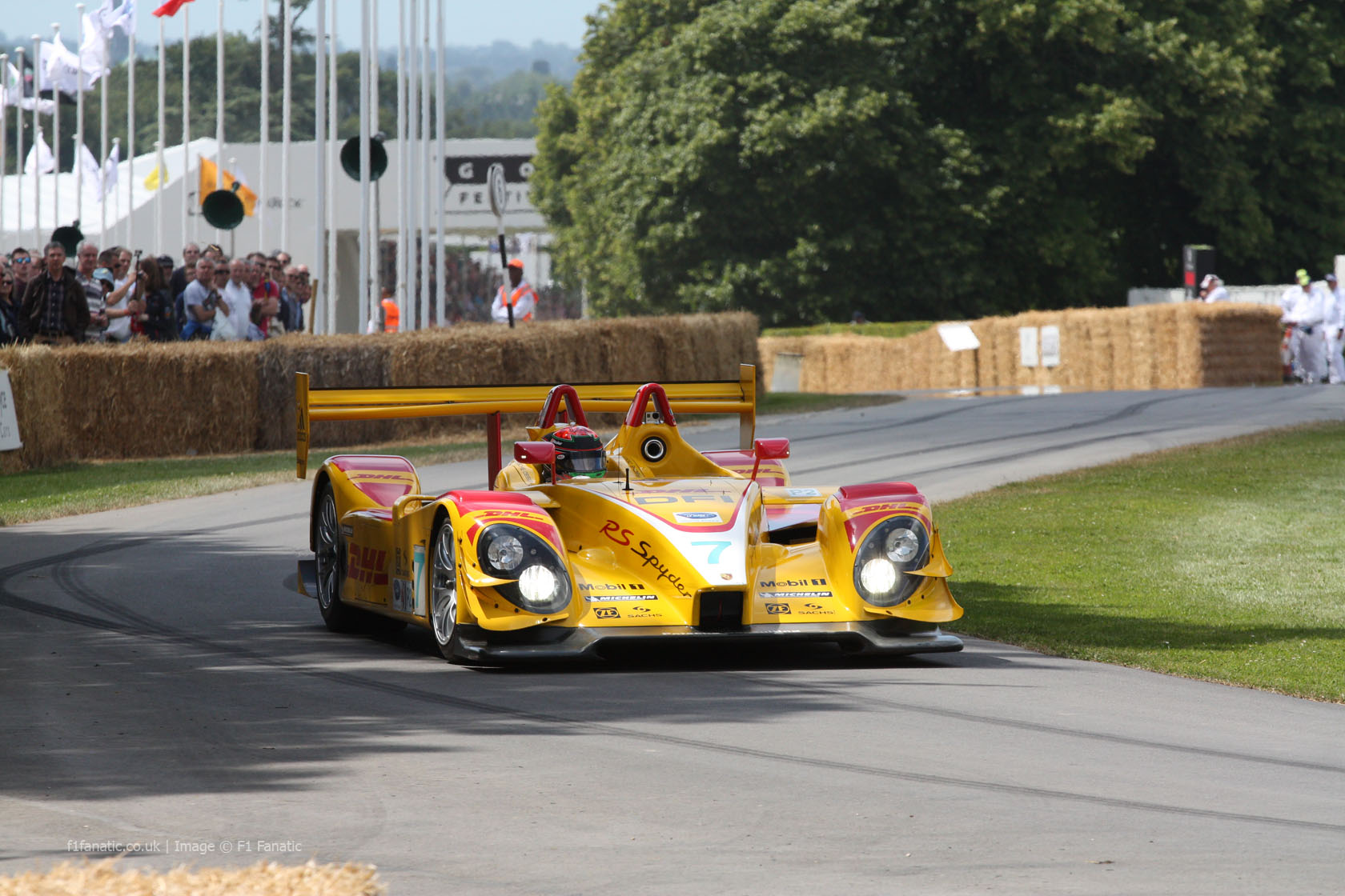 Porsche RS Spyder (2), Goodwood Festival of Speed, 2014