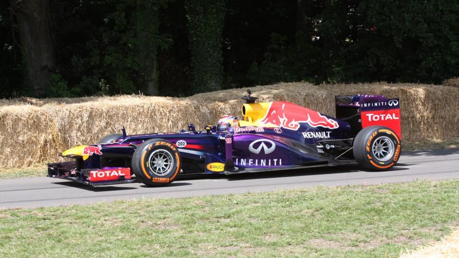 Red Bull RB7 (1), Goodwood Festival of Speed, 2014