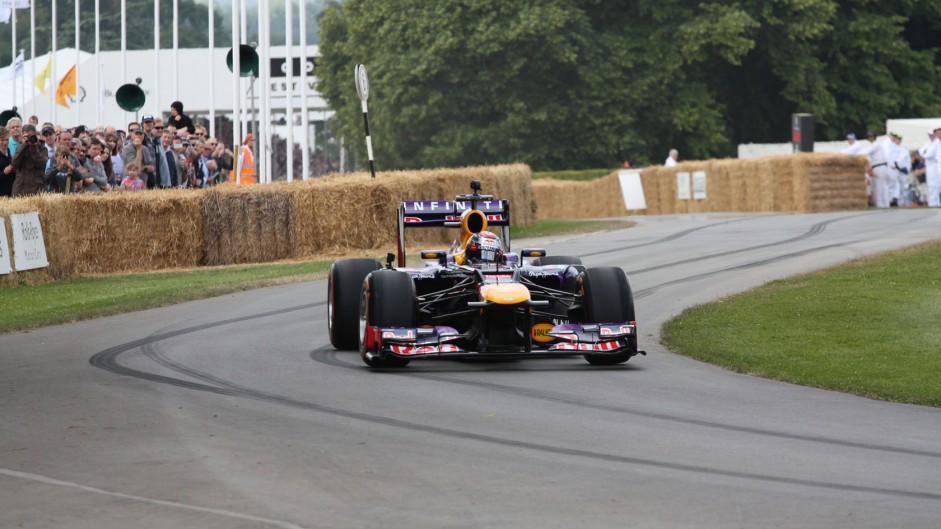 Red Bull RB7 (2), Goodwood Festival of Speed, 2014