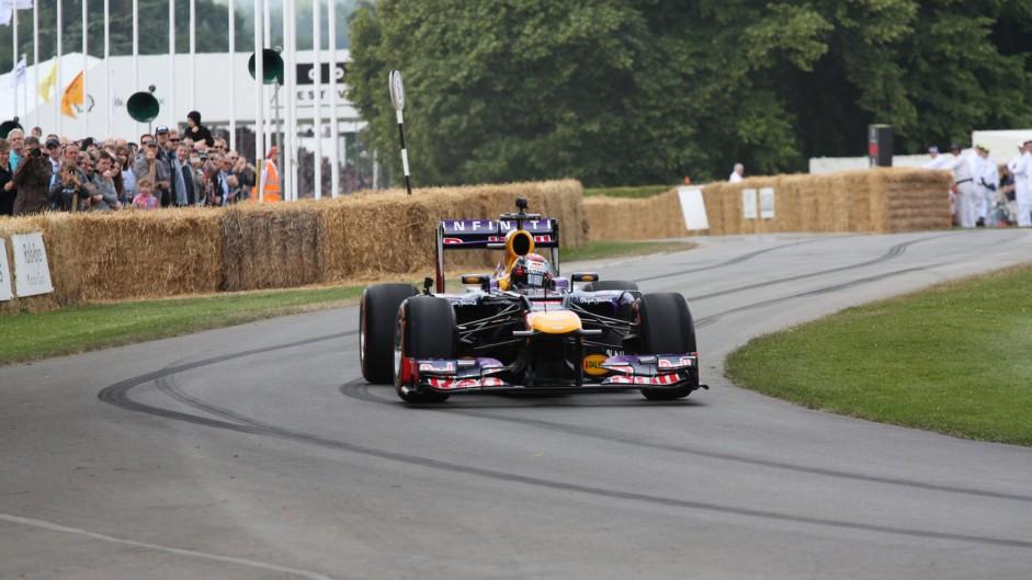 Red Bull RB7 (2), Goodwood Festival of Speed, 2014