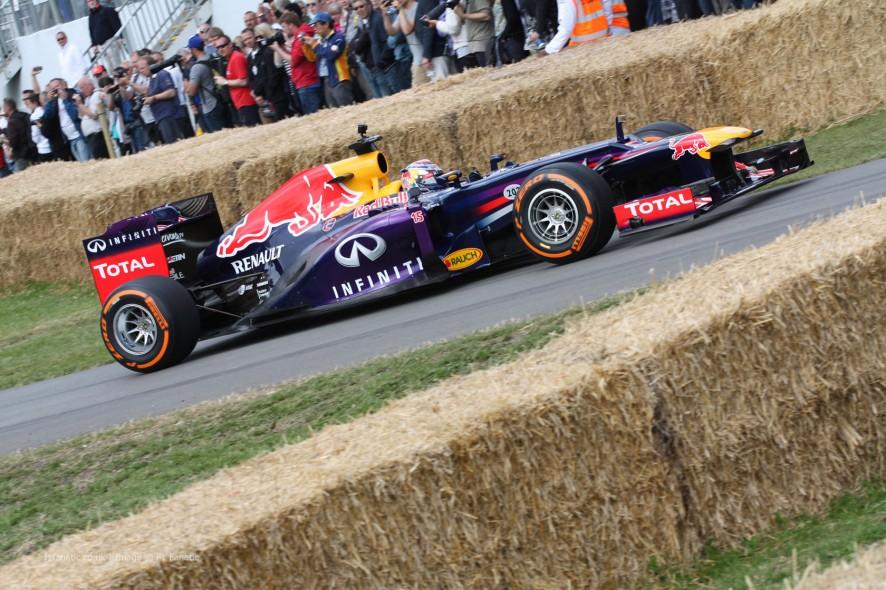 Red Bull RB7 (3), Goodwood Festival of Speed, 2014