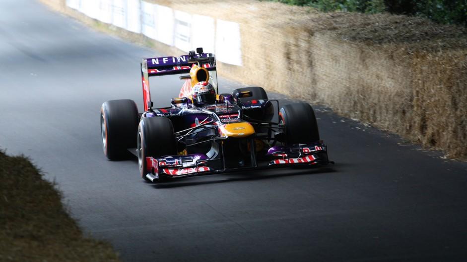Red Bull RB7 (4), Goodwood Festival of Speed, 2014