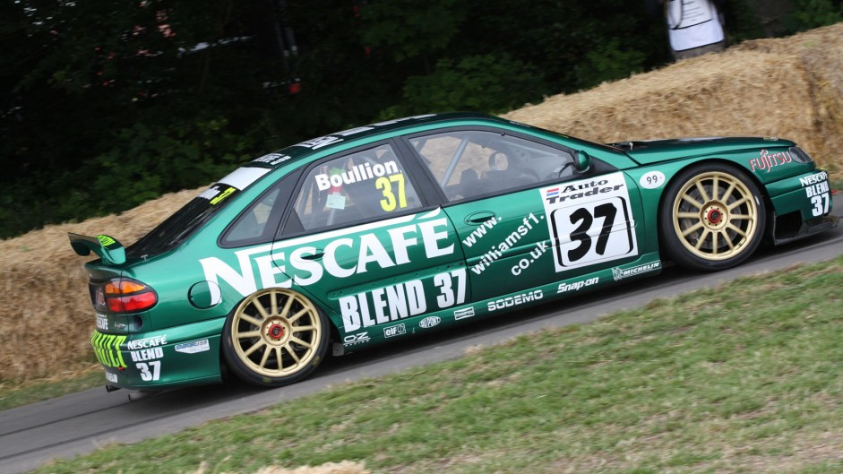 Renault Laguna BTCC, Goodwood Festival of Speed, 2014