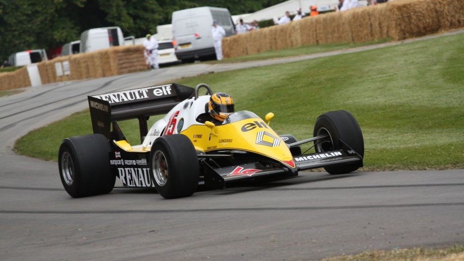 Renault RE40 (3), Goodwood Festival of Speed, 2014