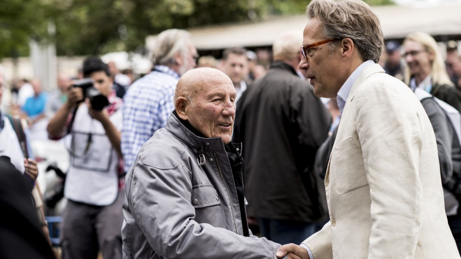Stirling Moss, Lord March, Goodwood Festival of Speed, 2014