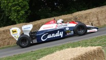 Toleman TG184 (4), Goodwood Festival of Speed, 2014