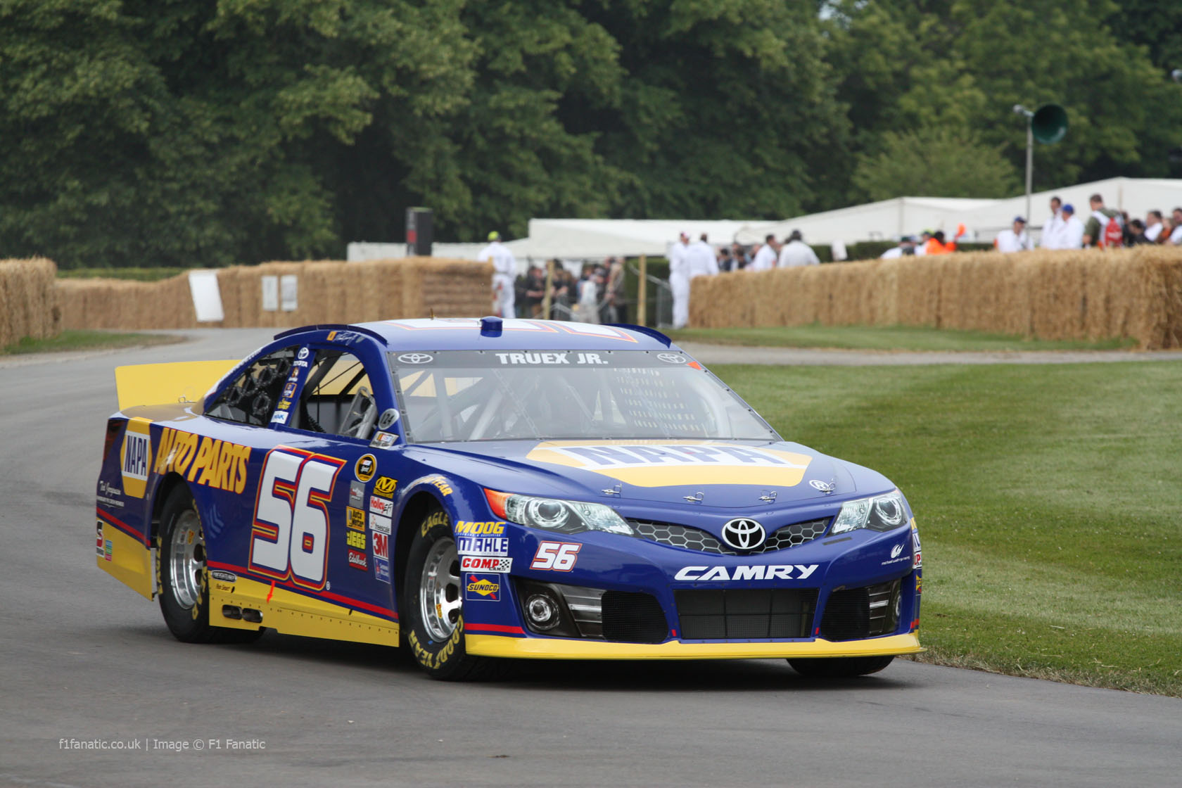 Toyota Camry, Goodwood Festival of Speed, 2014