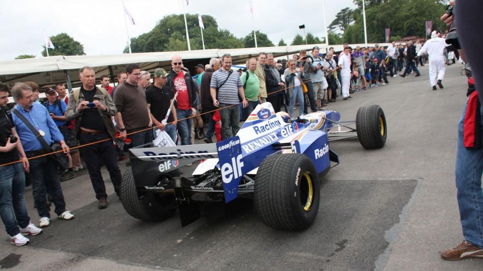 Williams FW18 (1), Goodwood Festival of Speed, 2014