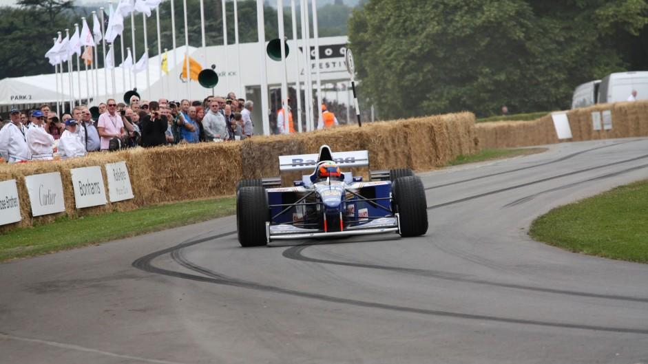 Williams FW18 (2), Goodwood Festival of Speed, 2014