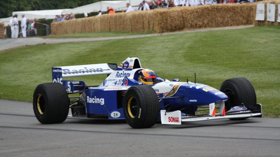 Williams FW18 (3), Goodwood Festival of Speed, 2014