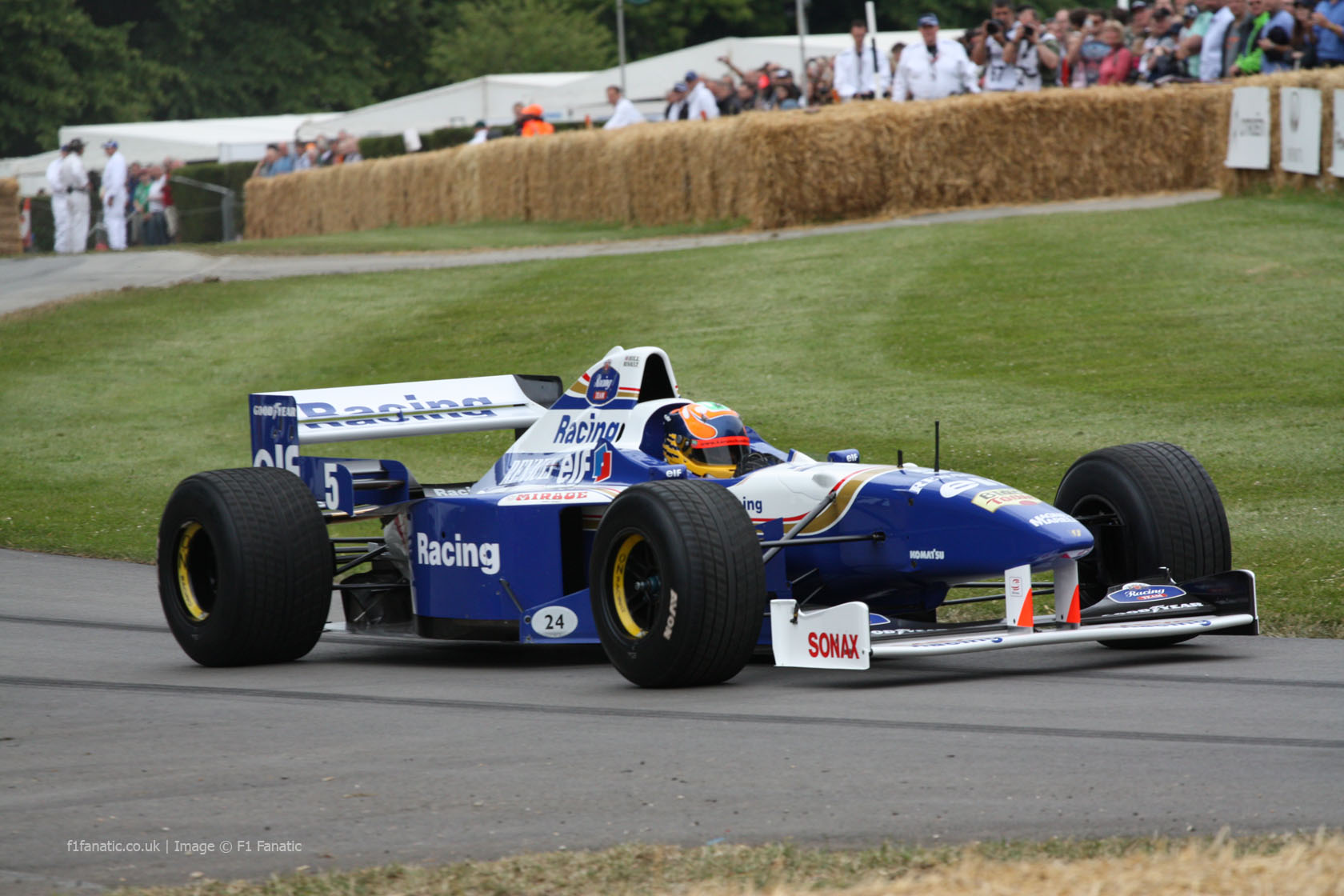 Williams FW18 (3), Goodwood Festival of Speed, 2014